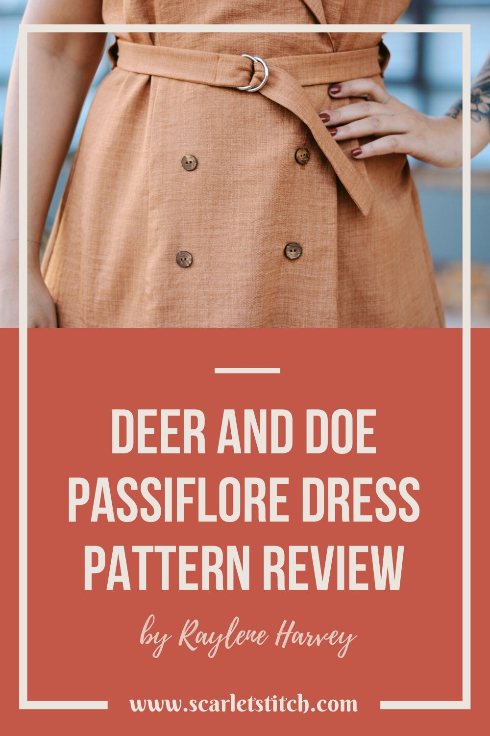 Deer and Doe Passiflore Coat Dress Review | Scarlet Stitch